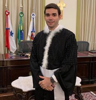 Filho de Carroceiro e Lavadeira da cidade de Pau dos Ferros toma posse como Juiz do Tribunal de Justiça do Pará