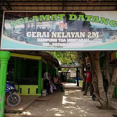 Menjajal Kuliner Seafood di Gerai Nelayan 2M Tiban Mentarau Batam