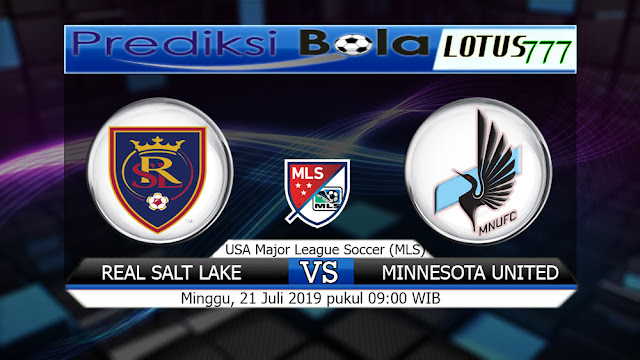 PREDIKSI REAL SALT LAKE VS MINNESOTA UNITED MINGGU 21 Juli 2019