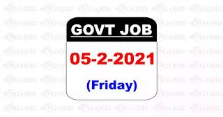 latest govt jobs 5 feb 2021
