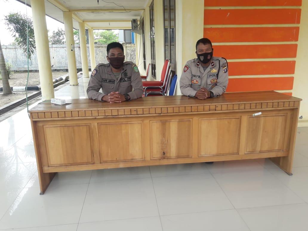Pengamanan Di Balai Karantina, Polres Sukamara Amankan Situasi