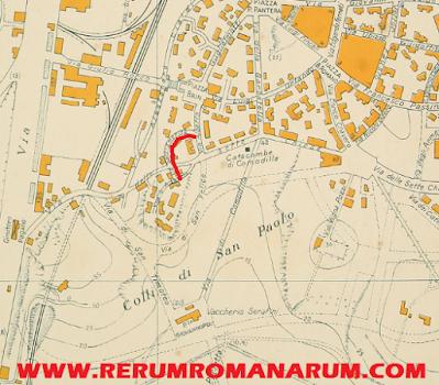 Mappa Via Sant'Emerita Marino Gigli