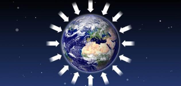 جاذبية الأرض