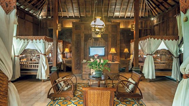 Menginap di Villa Kampoeng Djawi Wonosalam