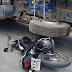 Após fuga e acidente Rotam apreende motocicleta no Bairro Monte Castelo em Teixeira