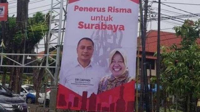 Diduga Tidak Netral, Wali Kota Surabaya Belum Hadiri Panggilan Bawaslu
