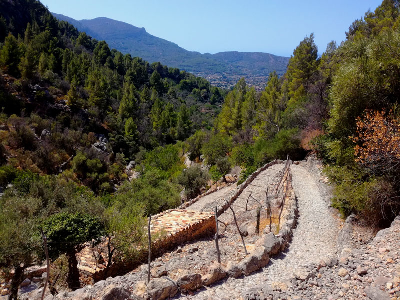 Trekking a El Barranco de Biniaraix