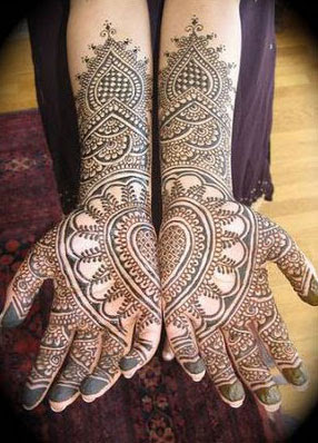 Best Mehndi Designs For Indian Bridal