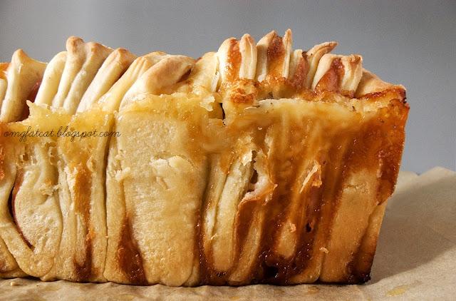 Ham&cheese pull apart bread :)