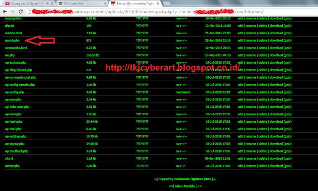 Cara Mencari file Uploader di Website