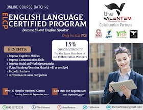 English Language Certified Program (ELCP) 2020 - The Valentem-YHP-TSEP