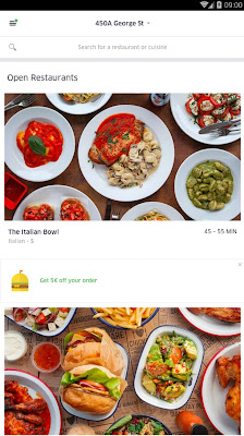 UberEATS Apk For Android
