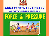 Weekly Children Program - Force and Pressure - 08.09.2019