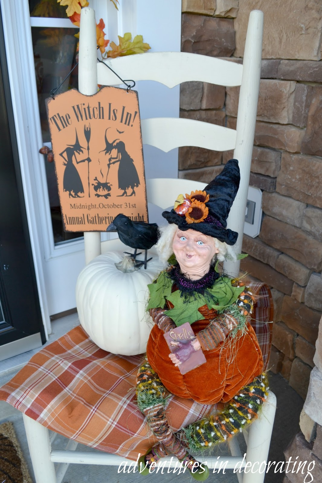 Adventures In Decorating Our 2015 Fall Kitchen: Adventures In Decorating: Our 2015 Fall Front Porch