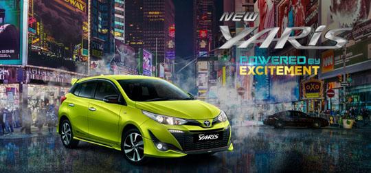 Harga Toyota New Yaris di Jakarta, Bogor, Depok, Tangerang, Bekasi, Serang 2018