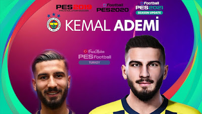 PES 2021 Faces Kemal Ademi by PES Football Turkey