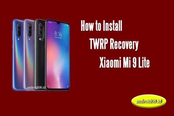 TWRP Xiaomi Mi 9 Lite