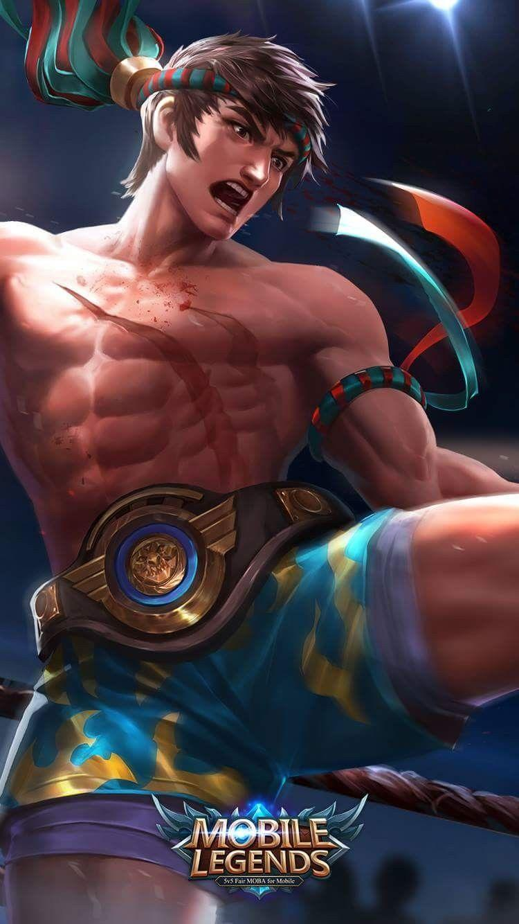 Wallpaper Chou King of Muay Thai Skin Mobile Legends Full HD for Android and iOS