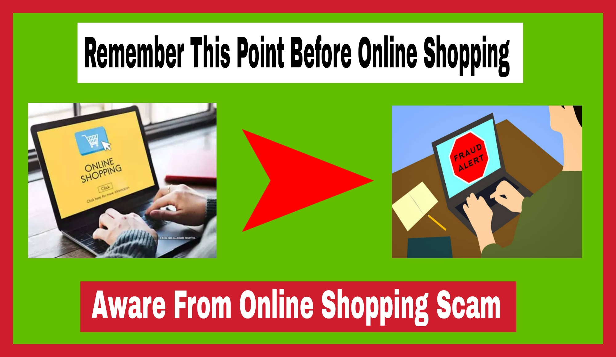 Remember This Point Before Online Shopping