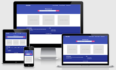 Download Template Blogger Safelink Bootstrap Pro Responsive