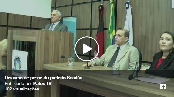 Vídeo: Vice prefeito de Patos toma posse e assume interinamente o cargo na manhã desta quarta 15/08
