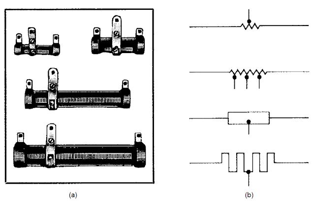 carbon composition variable resistors