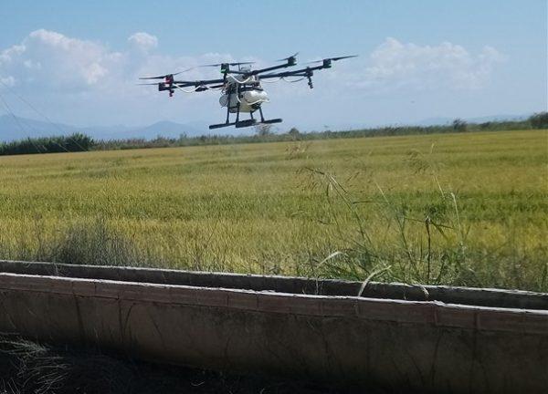 Με την χρήση Drone οι Θεσσαλοί παραγωγοί αποφασίζουν για την άρδευση