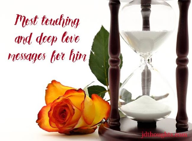 Heart touching love SMS messages images for him and husband