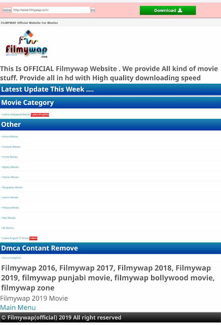 Filmywap 2019: Download latest Bollywood, Bollywood, pollywood and Punjabi in hd