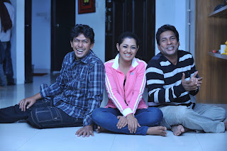 Nusrat Imrose Tisha With Mosharraf Karim And Chanchal Chowdhury