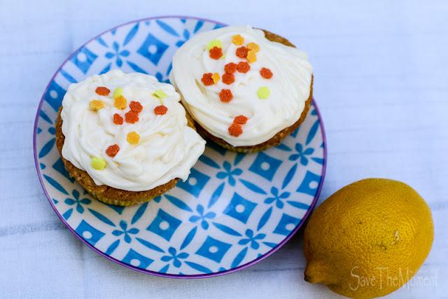 Cupcakes mit Zitronencreme