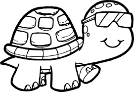 Glasses Turtles Coloring Pages Ideas