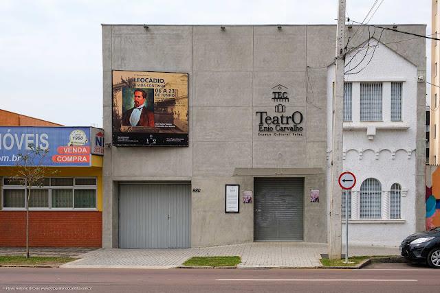 Prédio do Teatro Enio Carvalho