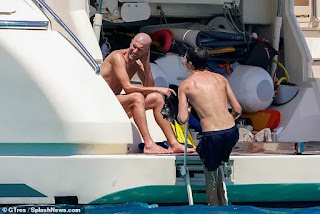Pictures: Zidane and his family goes on vacation to Ibiza ahead of 2020/21 season