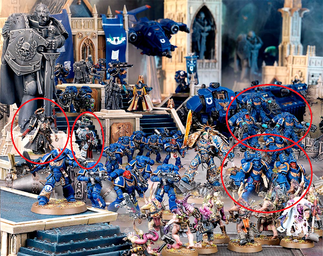 codex space marine army reveal