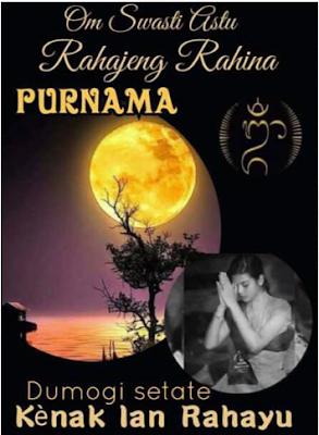 purnama di Bali, Umat Hindu