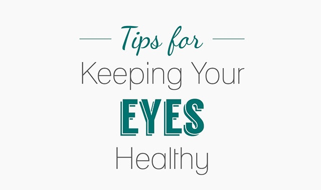 Image: Tips for Keeping Your Eyes Healthy #infographic
