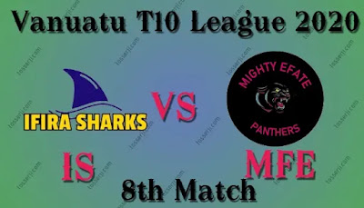 Who will win MFE vs IS 8th T20I Match