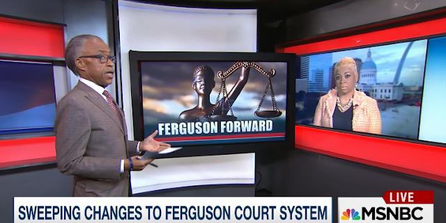 Reverend Al Sharpton Patricia Bynes Ferguson PoliticsNation MSNBC