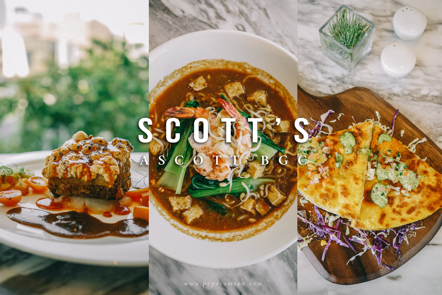 It's All About Comfort Food at Scott's in Ascott BGC