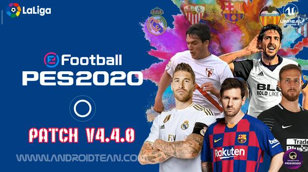 eFootball PES 2020 v4.4.0  LaLiga Patch Download