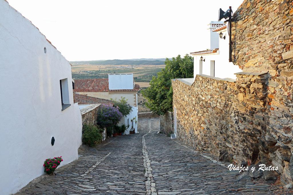 Calles y casas de Monsaraz