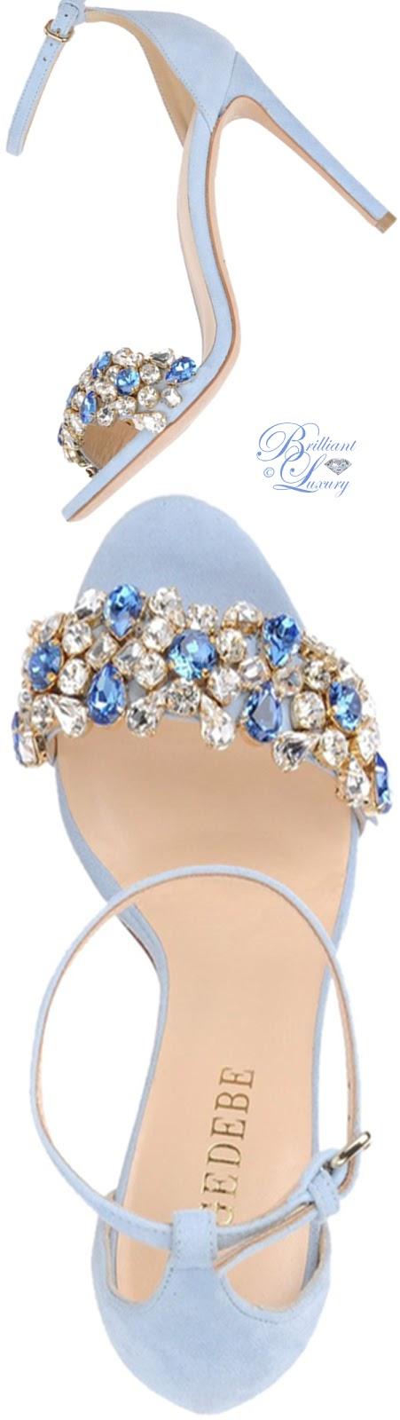 Brilliant Luxury ♦ Gedebe sandals