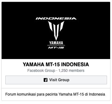 Komunitas Yamaha MT-15