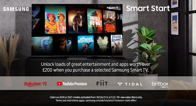 Unlock Loads of Entertainment for your Samsung Smart TV with Smart Start!