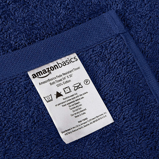 Fade-Resistant Cotton Towels
