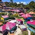 Tigarihit, Kampung Warna-Warni di Parapat | Wisata Instagramable