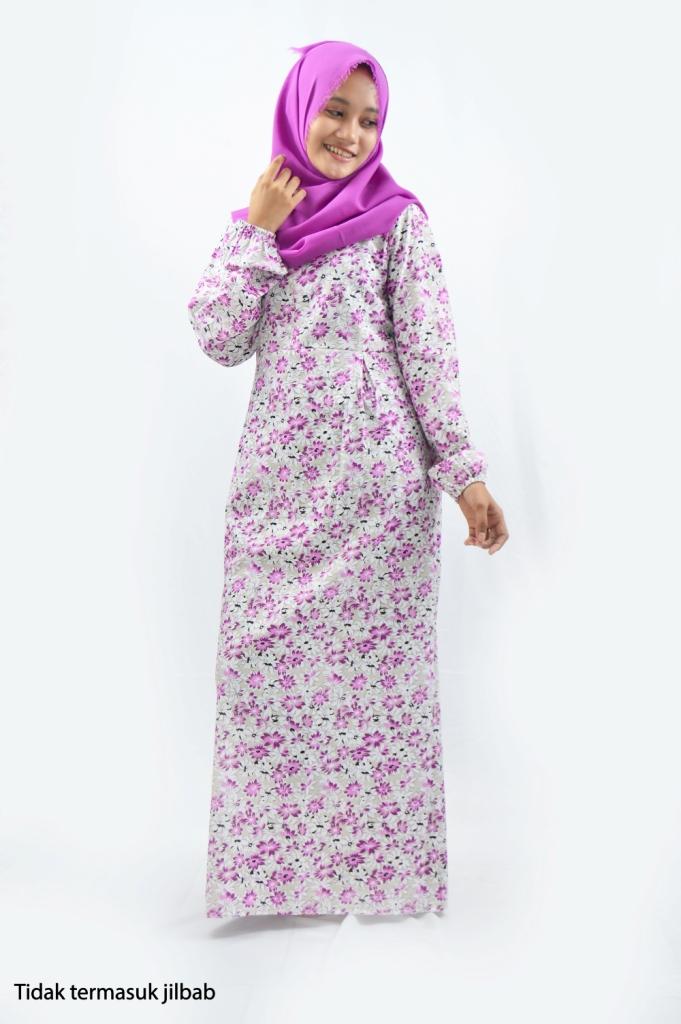 Baju Muslim Gamis Katun Jepang Murah Cantik Grosir Terbaru