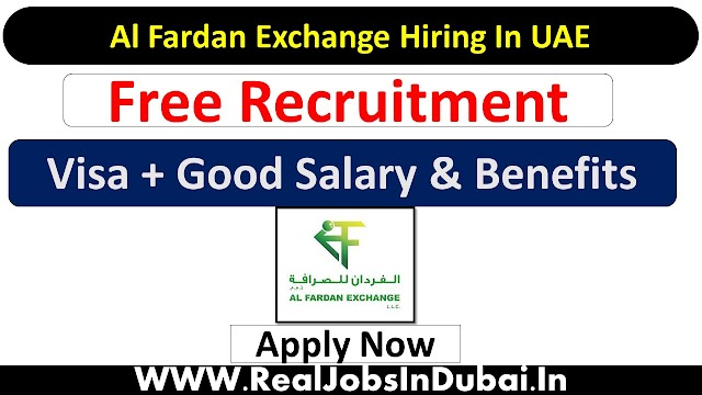 Al Fardan Exchange Careers Jobs In Dubai - UAE