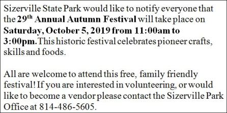 10-5 29th Annual Autumn Festival